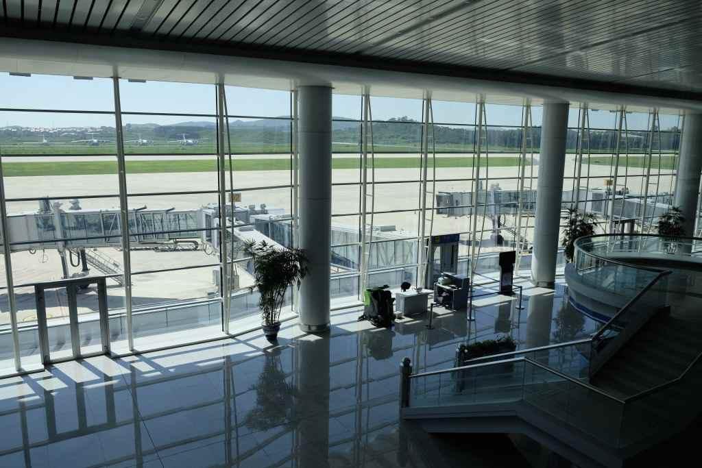 平壌国際空港(FNJ/順安空港) 制限エリア