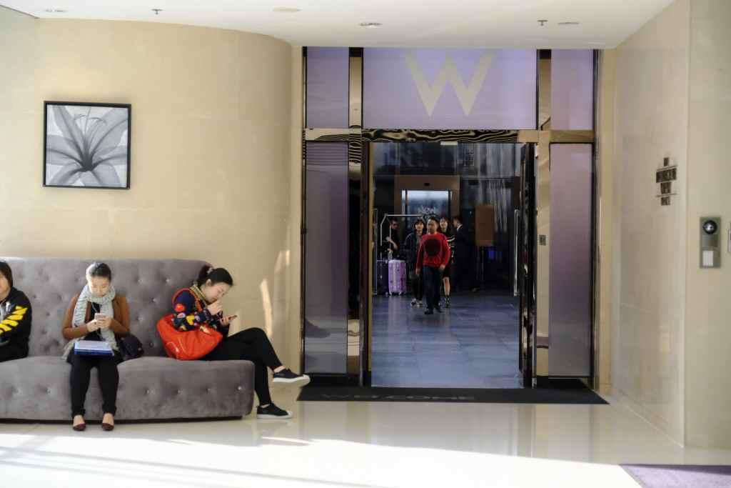W香港の入り口