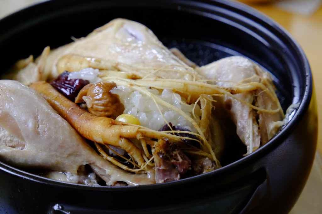 北朝鮮の参鶏湯