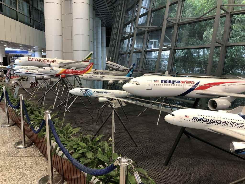 クアラルンプール国際空港で乗り継ぎ