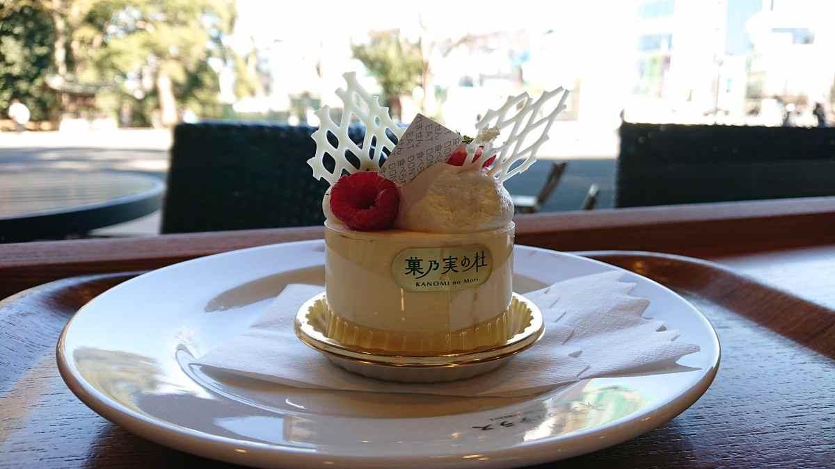 果乃実の杜のケーキ