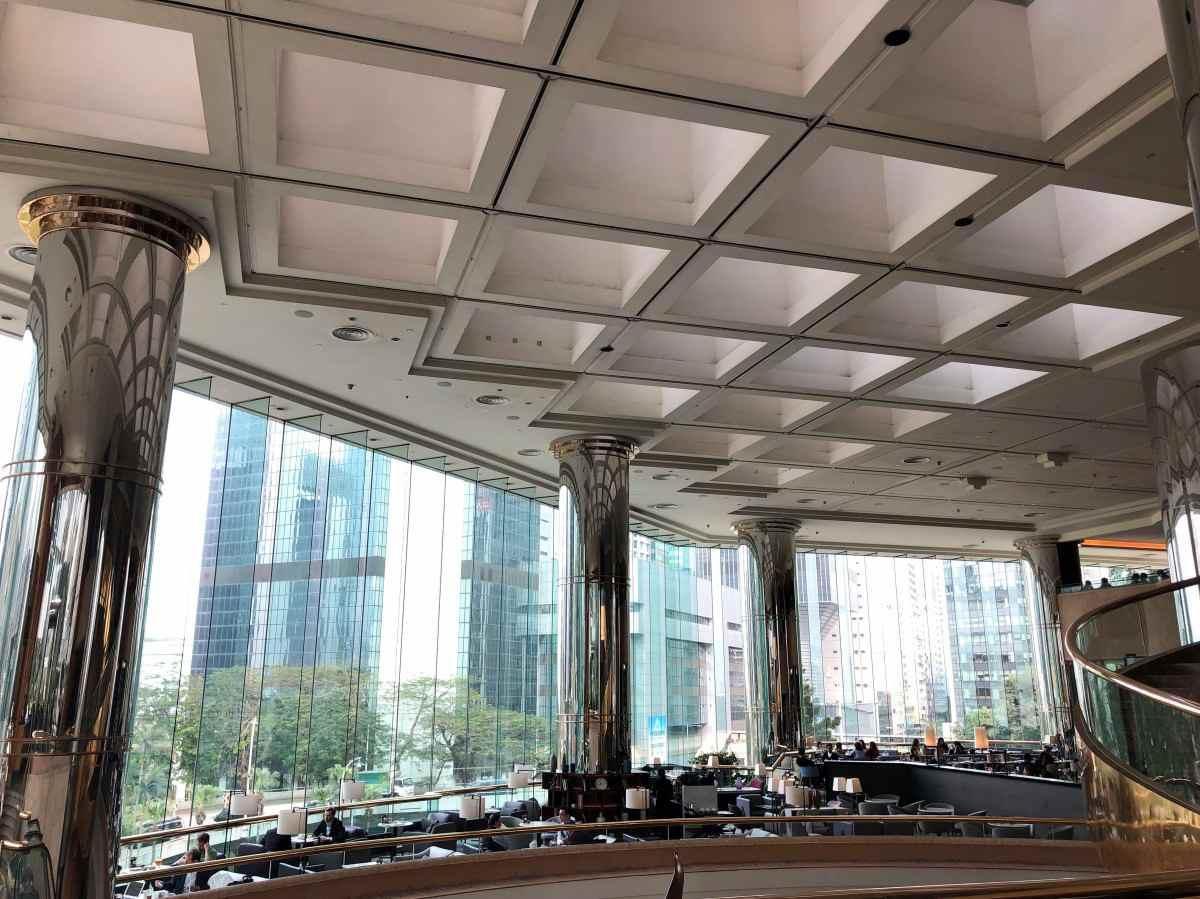 JWマリオット香港のロビー