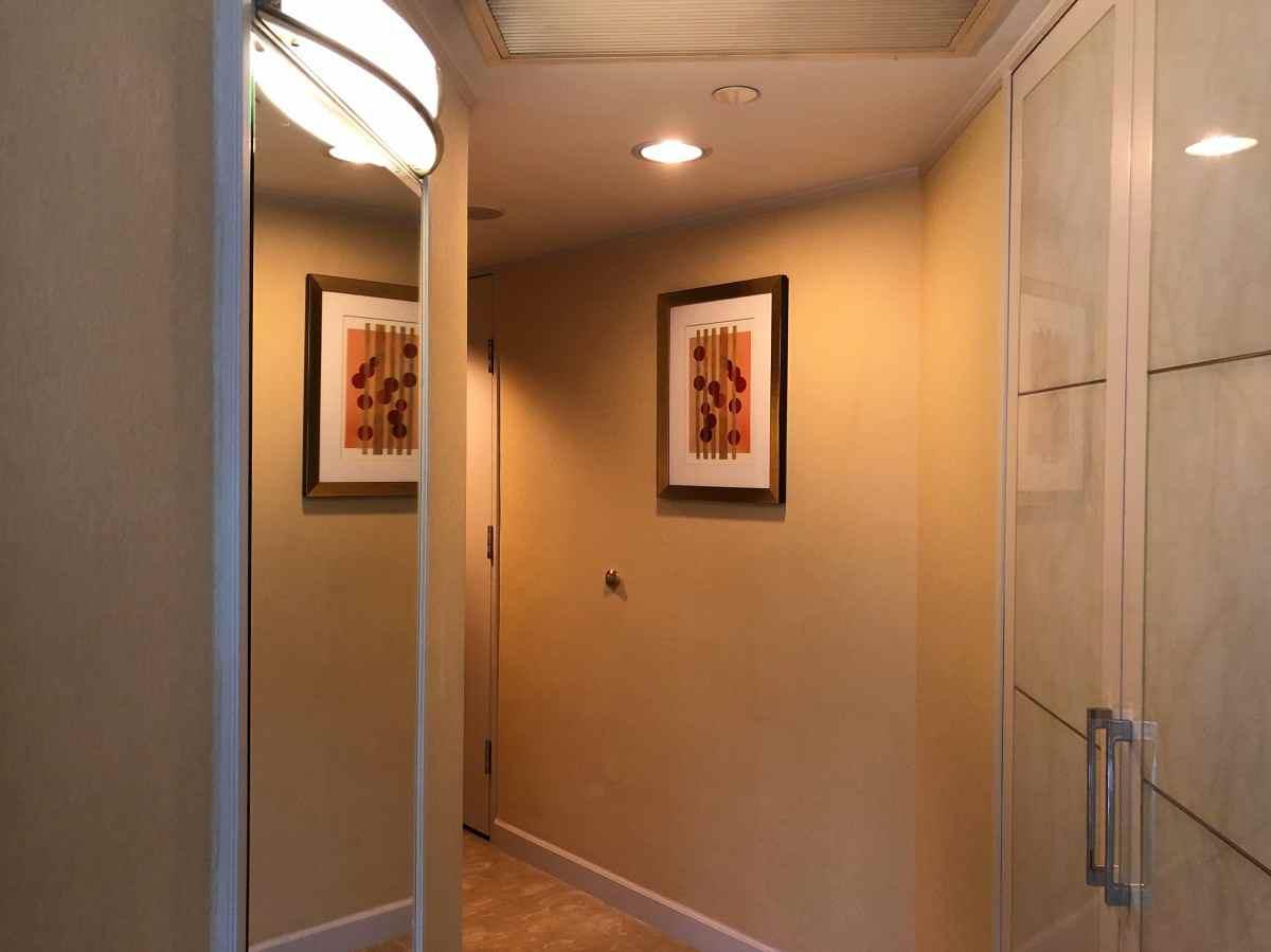 居室部分の廊下