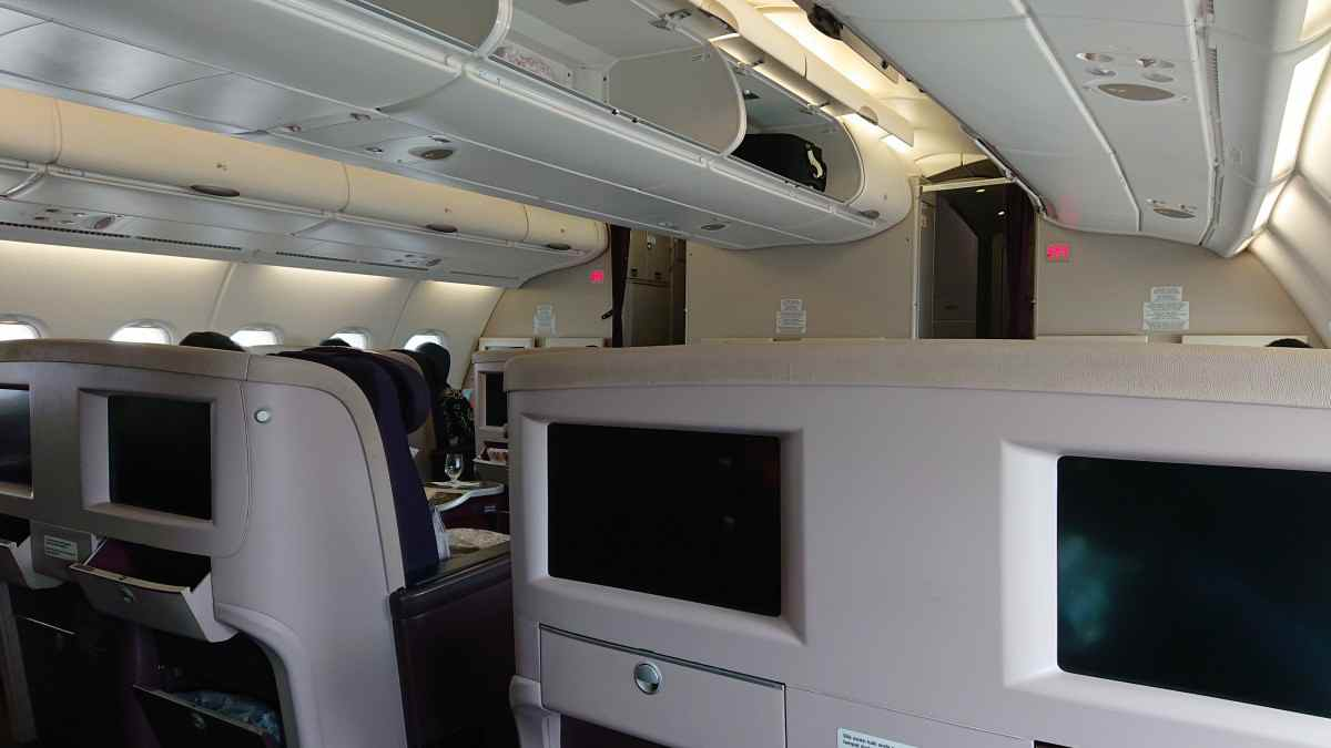 マレーシア航空のA380機内