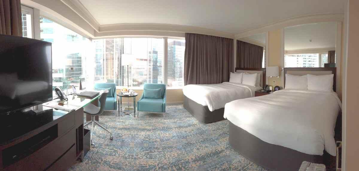JWマリオット香港、21Fの部屋