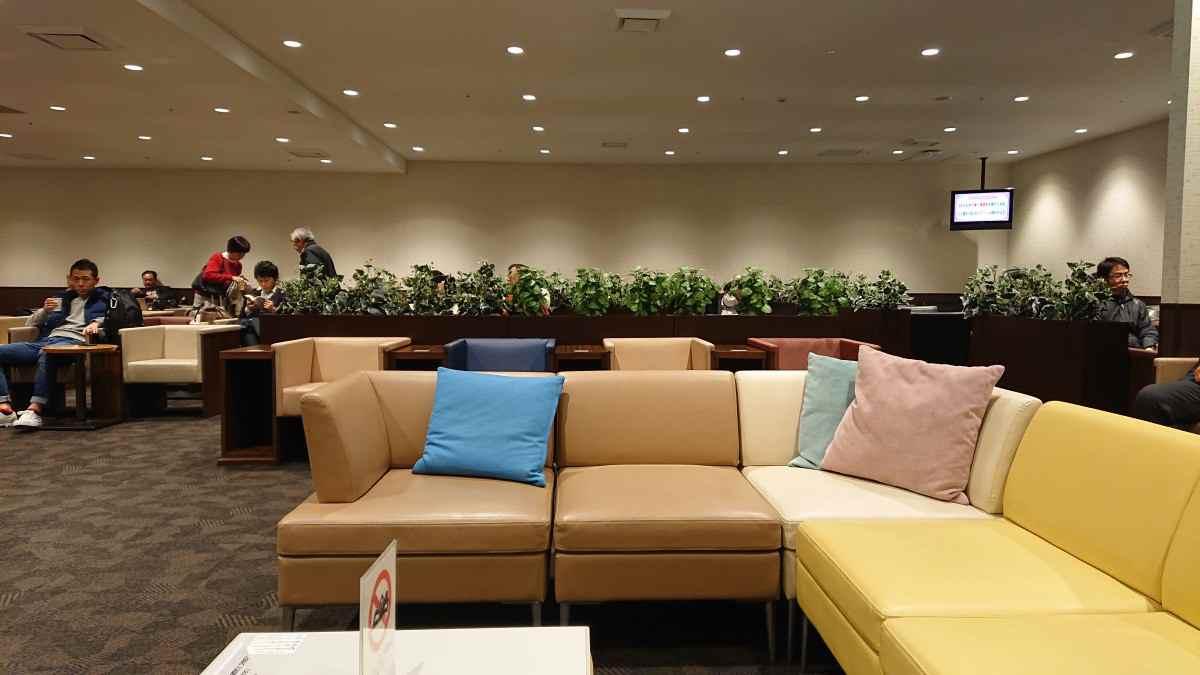 福岡空港・くつろぎのラウンジTIME