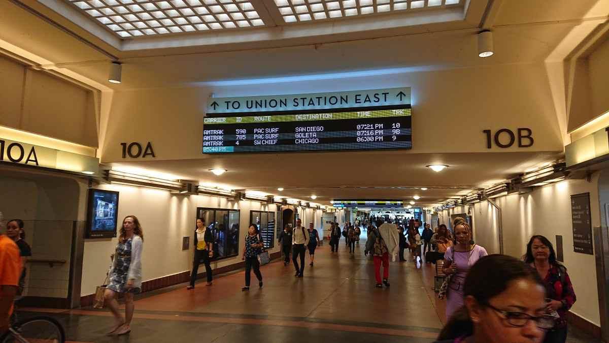 ロサンゼルス・ユニオンステーションのコンコース