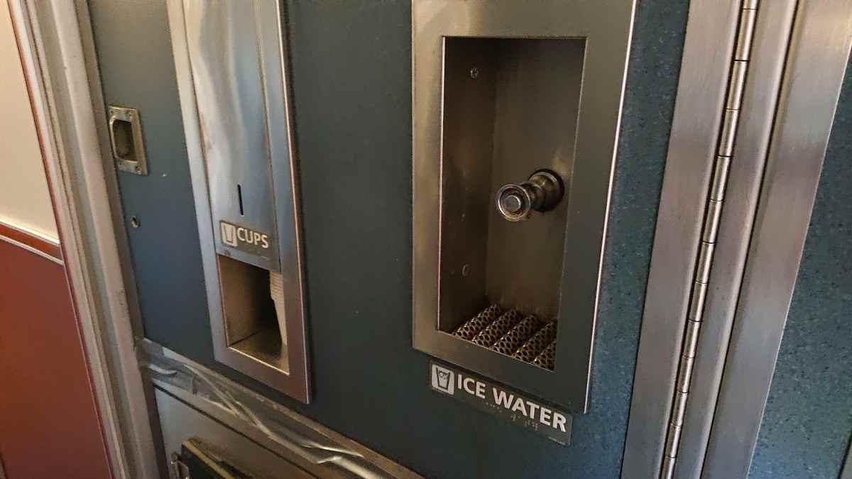 アムトラックの給水器