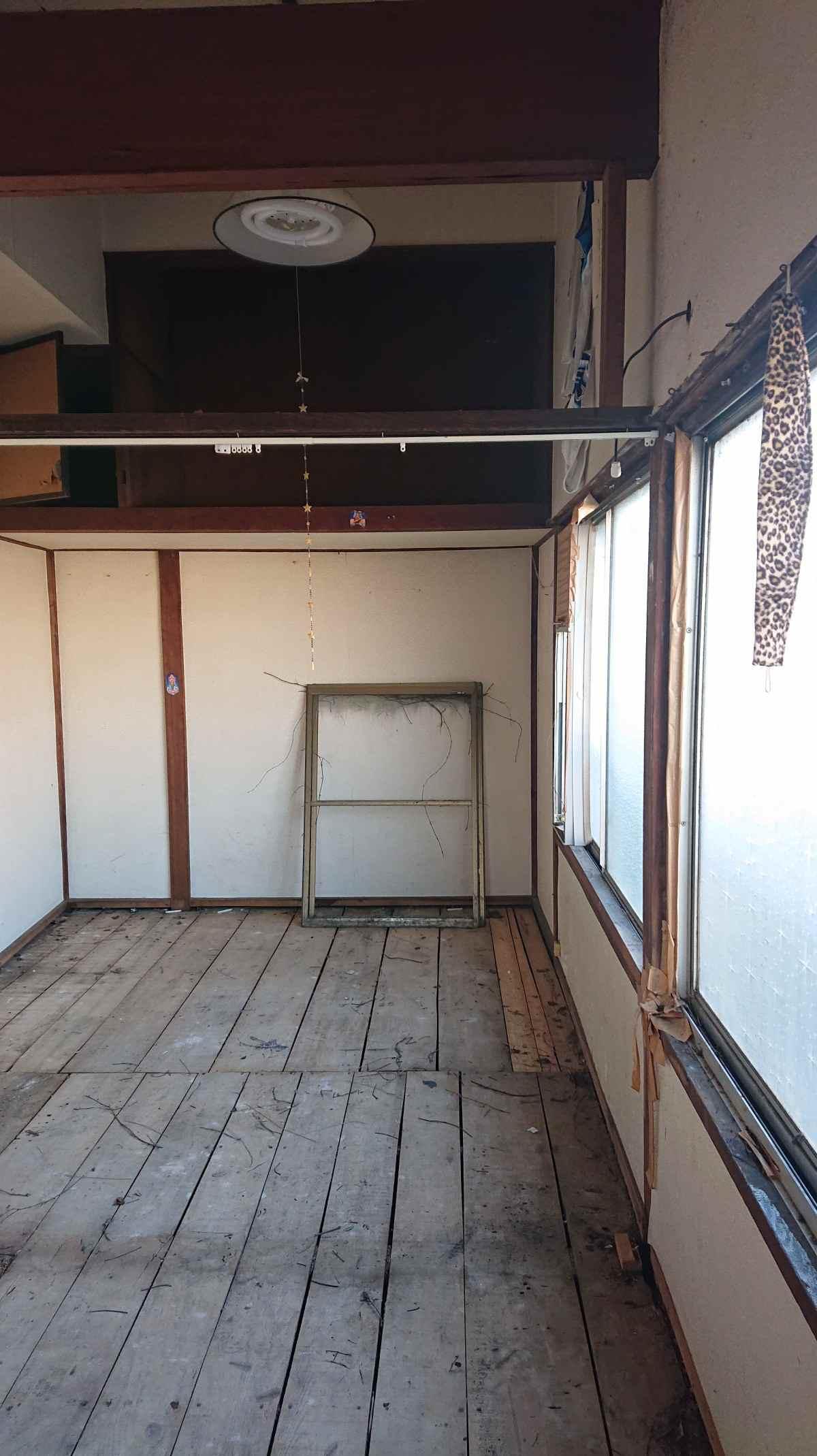 二階居室部分