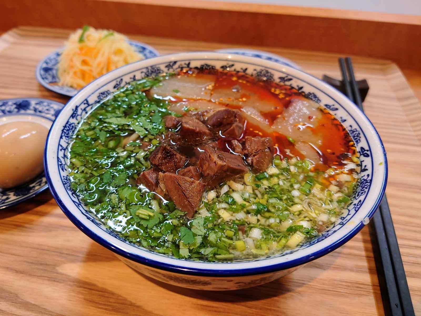 ザムザムの蘭州牛肉麺