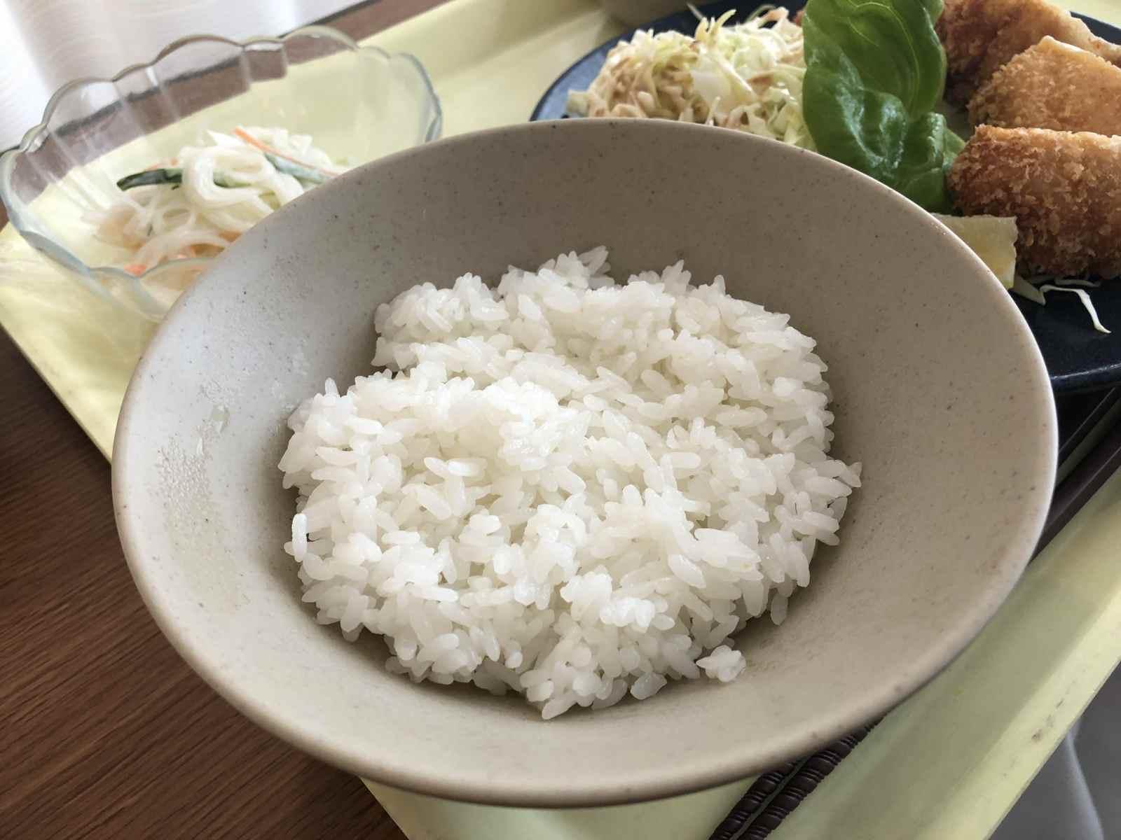 米が少ない